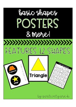 Basic Shapes Posters and More!
