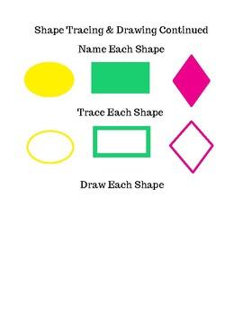 Basic Shapes Recognition Worksheets