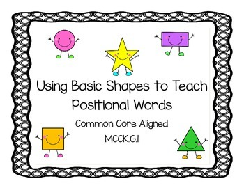 Basic Shapes and Positional Words