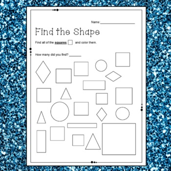 Basic Shapes for Kindergarten and Grade 1