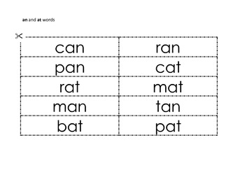 Basic Short Vowel word sorts