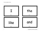 Basic Sight Words Flashcards