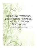Basic Sight Words-Flashcards