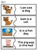 Basic Sight Words: Sentence Match Ups