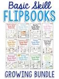 Basic Skill Flipbooks - Year Long Themes Bundle