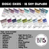 Basic Skills - 18 Set Bundle (Special Education, Autism, A