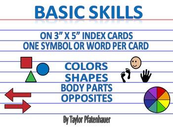 Basic Skills - 3x5 Cards