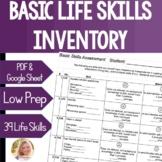Basic Skills Assessment Functional Life Skills Special Education