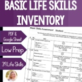 Basic Skills Assessment Functional Life Skills Special Education