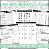 Basic Skills Assessment (Math and Phonics)