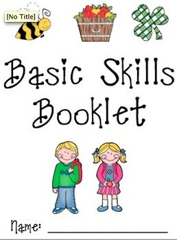Basic Skills (Cut & paste, matching, patterns, tracing, counting, etc.)