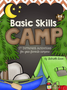 Basic Skills Camp {17 Different Activities for Your Favorite Camper!}