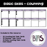 Basic Skills - Counting Task Cards (Special Education, Aut