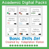 Basic Skills Digital Tasks for Special Education-Distance