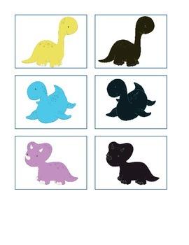 Basic Skills Dinosaur Themed Bundle for Pre-K or Special Ed!