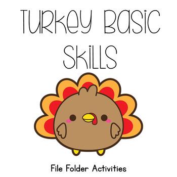 Basic Skills File Folder Activities *15 file folders included*