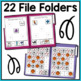 Basic Skills File Folder Activities for Special Education and Autism