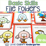 File Folder Activities for Special Education: Birds Basic Concepts
