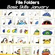 File Folder Activities for Special Education: January Basic Concepts