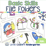 File Folder Activities for Special Education: January Basi