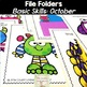 File Folder Activities for Special Education: October Basic Concepts