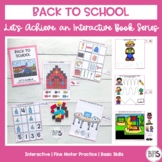Basic Skills Interactive Book Back to School Theme (Let's