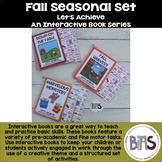 Basic Skills Interactive Books Fall Seasonal Bundle (Let's