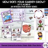 Basic Skills Interactive Book Garden Theme (Let's Achieve Series)