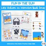 Basic Skills Interactive Book Ocean/Beach Theme (Let's Ach
