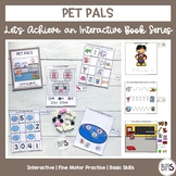 Basic Skills Interactive Book Pet Theme (Let's Achieve Series)