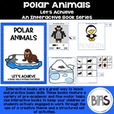 Basic Skills Interactive Book Polar Animals Theme (Let's A
