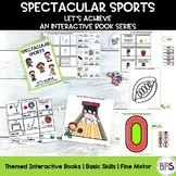 Basic Skills Interactive Book Sports Theme (Let's Achieve Series)