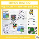 Basic Skills Interactive Book Transportation Theme (Let's