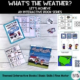 Basic Skills Interactive Book Weather Theme (Let's Achieve