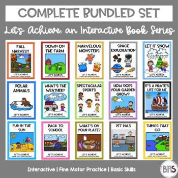 Basic Skills Interactive Books Growing Bundle (Let's Achieve Series)