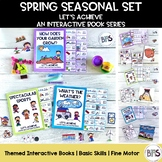 Basic Skills Interactive Books Spring Seasonal Bundle (Let