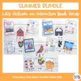 Basic Skills Interactive Books Summer Seasonal Bundle (Let