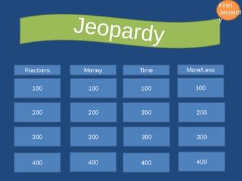 Basic Skills Jeopardy