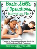 Basic Skills Math Intervention Plan- Supports Middle Schoo