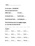Basic Skills Math Test