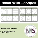 Basic Skills - Shape Task Cards (Special Education, ABA, DTT)