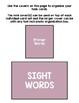 Basic Skills Dolch Sight Words Primer (Special Education, ABA, DTT)