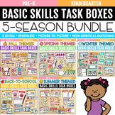 Basic Skills Task Boxes Bundle (Errorless Learning Include