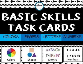 Basic Skills Task Cards