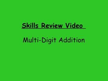 Basic Skills Video: Multi-Digit Addition