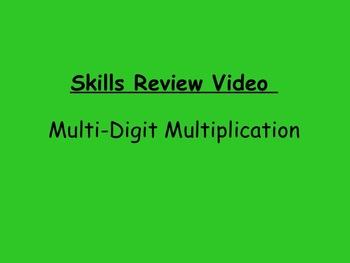 Basic Skills Video: Multi-Digit Multiplication