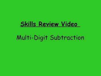 Basic Skills Video: Multi-Digit Subtraction
