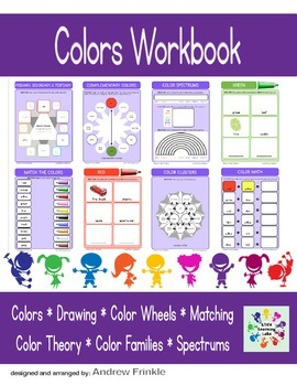 Basic Skills Workbook - Preschool Kindergarten Primary - Colors & Color Theory