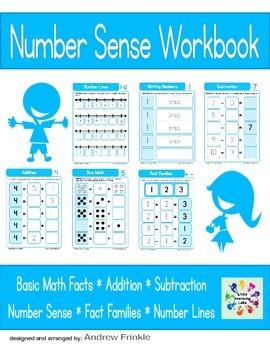 Basic Skills Workbook - Preschool Kindergarten Primary - Number Sense