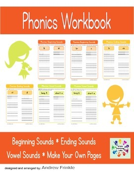 Basic Skills Workbook - Preschool Kindergarten Primary - Phonics and Sounds